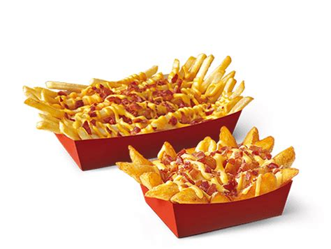 Fries Top by Top Fries Bacon Cheese Mcdonald S Espa 241 A