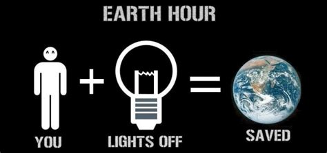 Day Lights Saving Time Earth Hour Is Tonight Turn Off The Lights Amp Save The