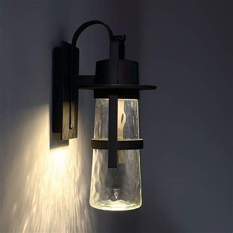 Blown Glass Sconce Led Light Design Sophisticated Led Outdoor Wall Lights