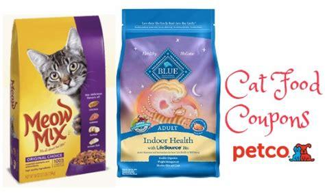 petco food coupons 10 cat food coupon 99 162 meow mix southern savers