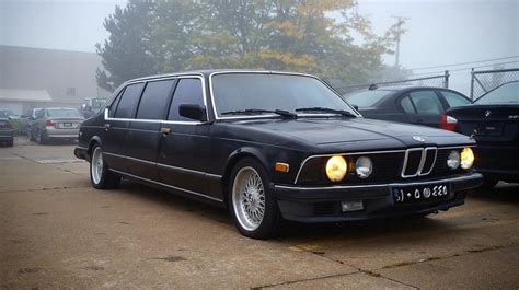 bmw 745i arrive in style in this 1985 bmw 745i limo the drive