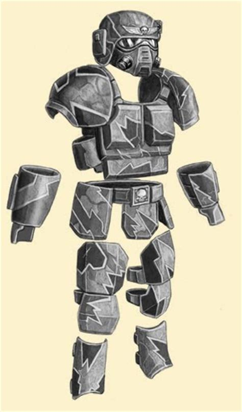 doodle how to make heresy carapace and flak armor forum dakkadakka
