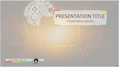 Free Concept Of Thinking Powerpoint 78398 Sagefox Powerpoint Templates Free Design Thinking Powerpoint Template