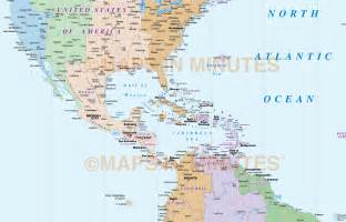 south america time zones map america map