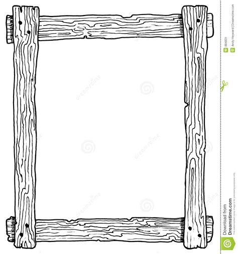 how to draw doodle frames wooden frame stock illustration illustration of wood