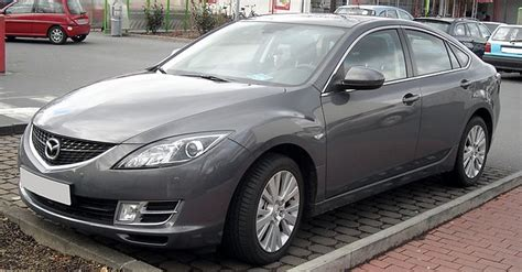types of mazdas file mazda 6 front 20090212 jpg
