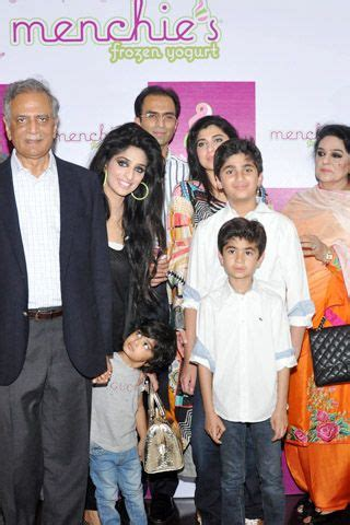 Photo gallery famous actor nouman ejaz at launch of menchies frozen