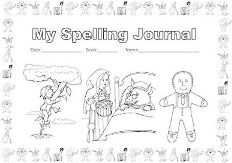 printable spelling journal jessie s resources free printables