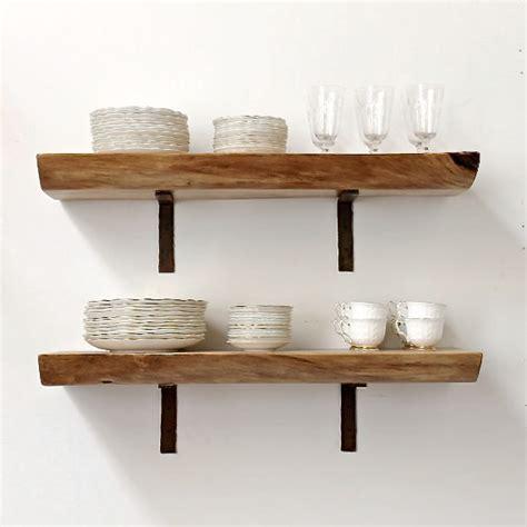 open kitchen shelving for sale floating shelf live edge slab wood open shelving