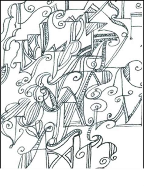 abstract coloring pages with words free abstract word coloring pages