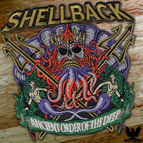 us navy shellback ancient order of the deep patch
