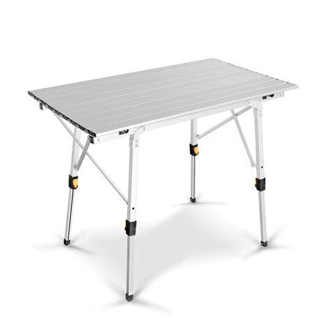 metal aluminum suit portable folding picnic table aluminum