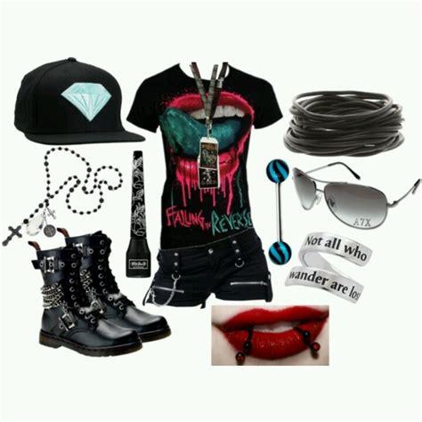 hair polyvore globezhair emo clothing emo clothes emo fashion emo styles emo