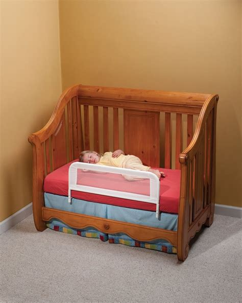 Convertible Crib Safety Rail Bed Rails For Toddlers Furniture Ideas