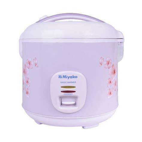 Rice Cooker Miyako 1 8 Liter jual miyako mcm509 rice cooker lavender 1 8 l