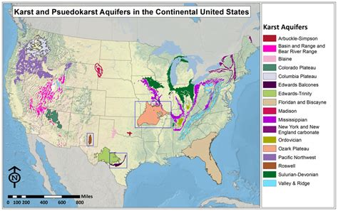 united states aquifer map karst aquifers