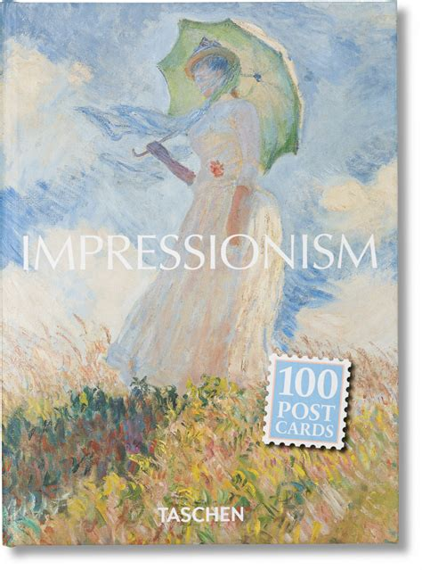libro the art box postcards impressionism postcard set taschen books
