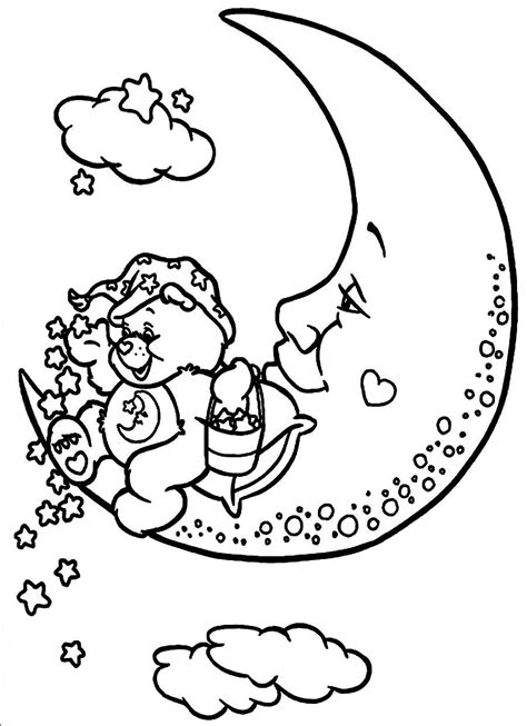 Bedtime Story Coloring Page Coloring Pages Bedtime Coloring Pages