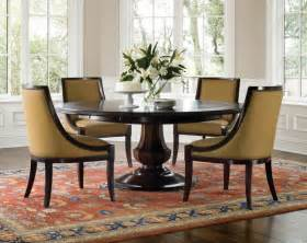 Circle Dining Table Sets Arlington Pedestal Dining Set Traditional Dining Sets By Clubfurniture
