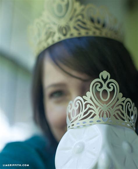 How To Make A Paper Princess Tiara - paper crown for all the paper