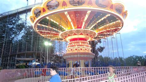 swings at amusement park waldameer amusement park flying swings
