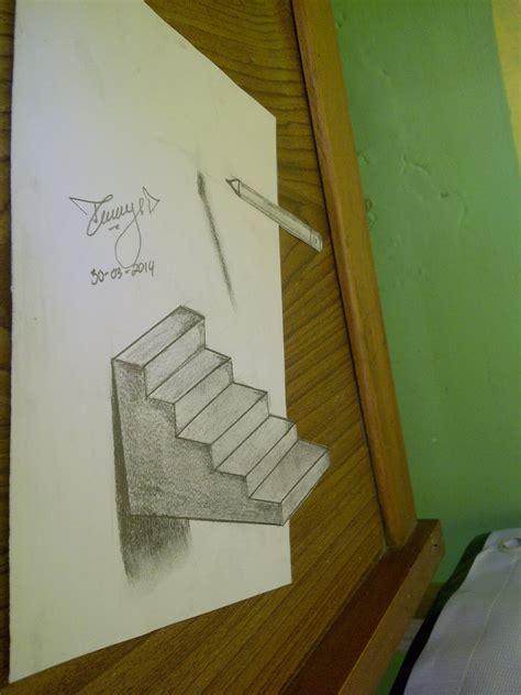 lukisan pensil 3d pradana