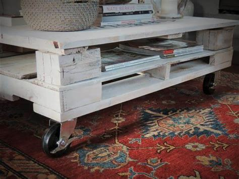 shabby chic coffee table diy pallet shabby chic white coffee table with wheels 101