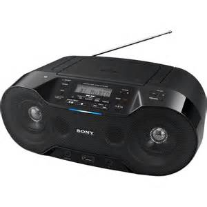 Zsrs70 portable cd player with bluetooth and fm dab radio superfi