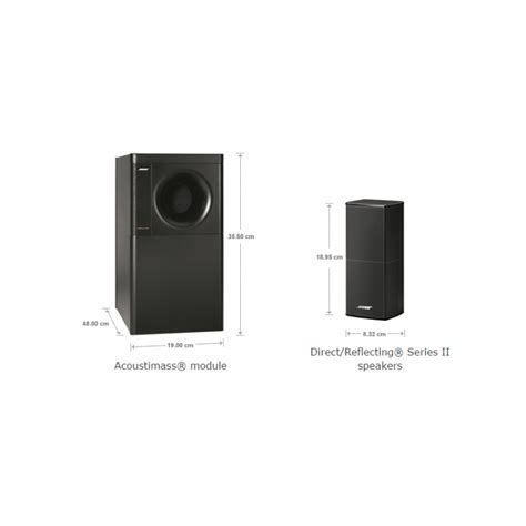 Bose Acoustimass 3 Series V Black set boxe 2 1 bose acoustimass 3 series v white