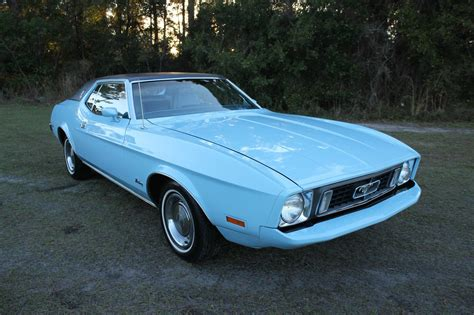 ford mustang 1973 all american classic cars 1973 ford mustang 2 door hardtop