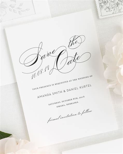 wedding invitations south auckland vintage glam save the date cards save the date cards by shine