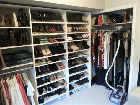 Closet Organizer Calgary by Converted Bedroom To Walk In Closet For The Shoes