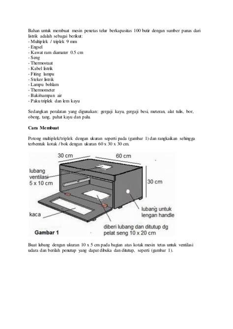 desain adalah pdf bagaimana cara membuat mesin penetas telur sederhana