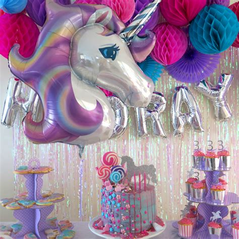 unicorn themed birthday party unicorn themed party