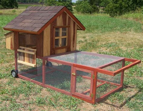 Mobile chicken coop coopdynasty