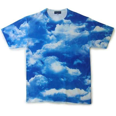 buy lewis boy cloud print t shirt blue white
