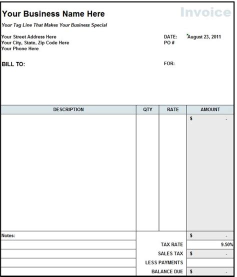 free invoice trucking invoice template free best resume