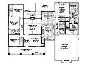 2400 Square Foot House Plans Craftsman Style House Plan 4 Beds 2 5 Baths 2400 Sq Ft Plan 21 295