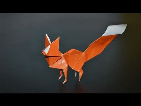 Origami Show - origami fox riccardo foschi in