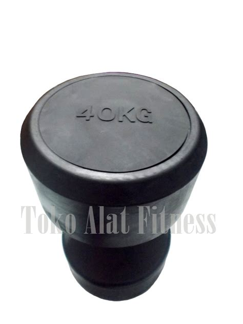 Dumbell Fix Rubber 5kg dumbell fix rubber 40kg toko alat fitness