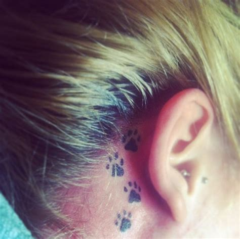 compass tattoo ear 37 ear tattoos see which made our 1 tattoos beautiful