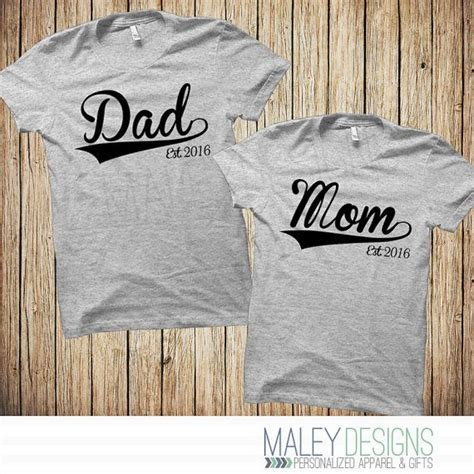Matching Baseball Shirts For Couples And Shirts New Parent Gifts Matching