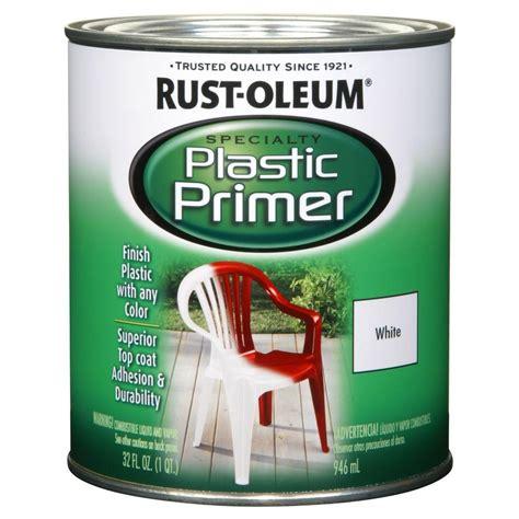 home depot paint plastic rust oleum specialty 1 qt plastic primer of 2