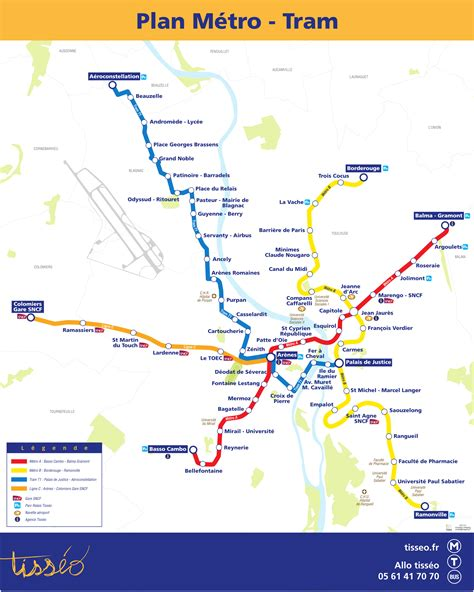 the metro map toulouse metro updated map lines hours and tickets