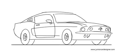 how to draw a 458 junior car designer photos cool easy cars to draw drawing gallery