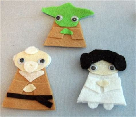Wars Origami Finger Puppets - 10 wars crafts to help you channel the parentmap