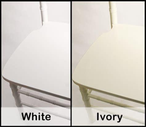 white vs ivory color