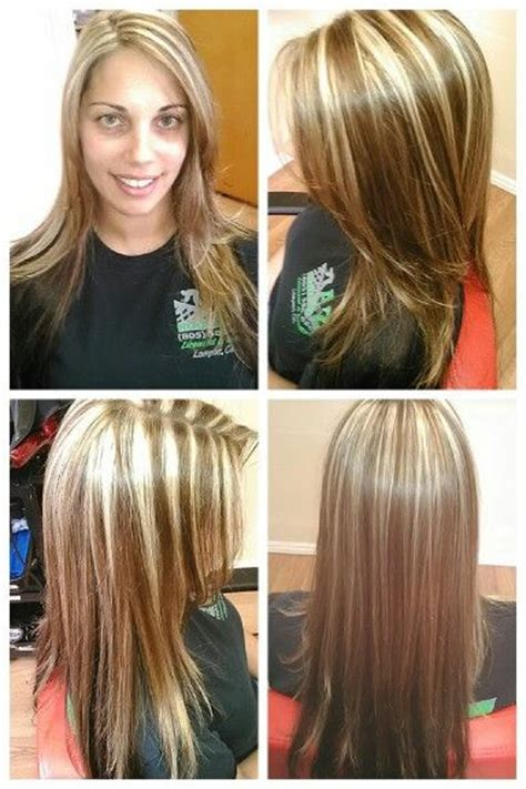 Images Of Blond Hair With Hilites Weaved Into It | 17 best images about strong weave slice highlights on
