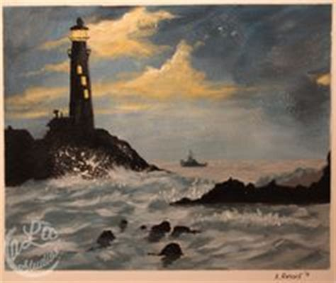 bob ross painting lighthouse bob ross bobs and landscape paintings on