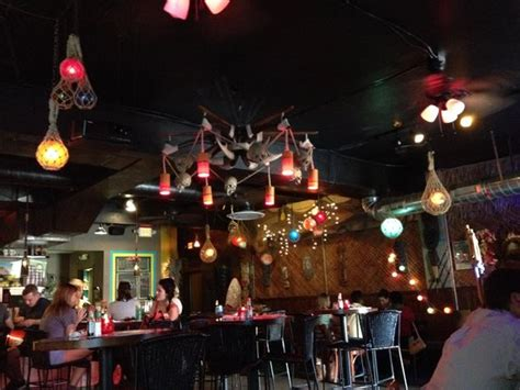 grass skirt tiki room awesome ambience picture of grass skirt tiki room columbus tripadvisor